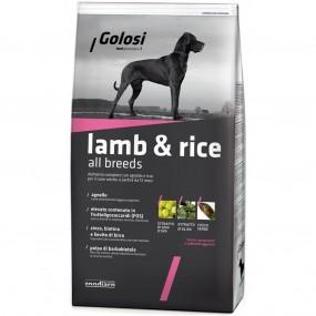 GOLOSI DOG LAMB&RICE 12KG