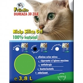 NISIP SILICA-GEL FIGARO 3.8L-PH INDICATOR