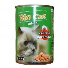BIO CAT INIMA 410GR (24BUC/BAX)