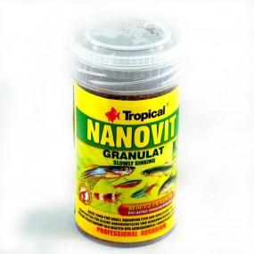 TROPICAL NANOVIT GRANULAT 100ML/70GR