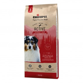 CHICOPEE CLASSIC NATURE LINE ACTIVE CHICKEN&RICE 15KG/8294015