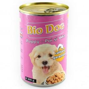 BIO DOG PUPPY PUI/VITA 410GR (24BUC/BAX)