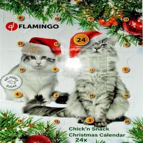 CALENDAR CRACIUN SNACK CAT CHICKEN/560705