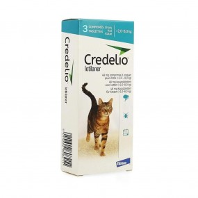 CREDELIO CAT 48 MG (2-8 KG) 3 TAB/CUT