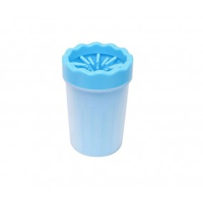 Dispozitiv din silicon, pentru spalarea si curatarea labutelor animalelor, M