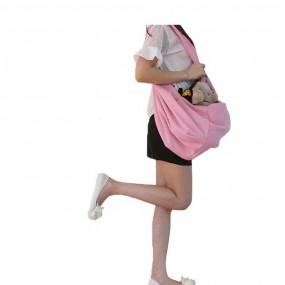 Marsupiu, hamac, geanta cu 2 fete pentru transportul animalelor de companie de talie mica