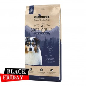BLACK FRIDAY - CHICOPEE CLASSIC NATURE LINE SOFT ADULT SALMON&RICE 15KG