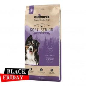 BLACK FRIDAY - CHICOPEE CLASSIC NATURE LINE SOFT SENIOR CHICKEN&RICE 15 KG