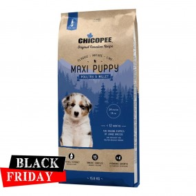 BLACK FRIDAY - CHICOPEE CLASSIC NATURE LINE MAXI PUPPY POULTRY& MILLET 15 KG