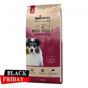 BLACK FRIDAY - CHICOPEE CLASSIC NATURE LINE MAXI ADULT POULTRY&MILLET 15KG