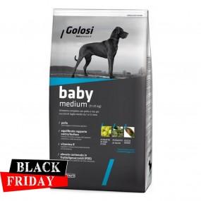 BLACK FRIDAY - GOLOSI DOG BABY MEDIUM 12 KG