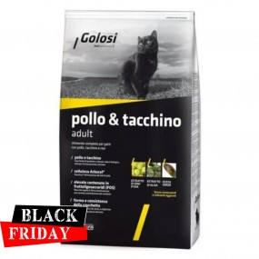 BLACK FRIDAY - GOLOSI CAT PUI SI CURCAN 7,5KG