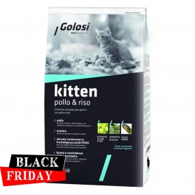 BLACK FRIDAY - GOLOSI CAT KITTEN PUI&OREZ 20KG