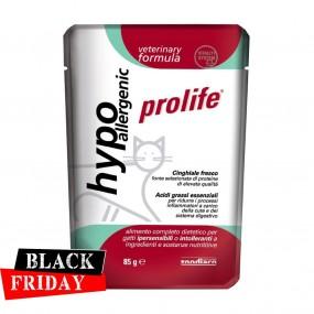 BLACK FRIDAY - PROLIFE PLIC CAT VET HYPOALLERGENIC 85GR