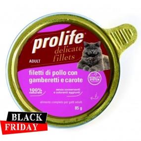 BLACK FRIDAY - PROLIFE CAT ADULT FILE PUI&CREVETI CV 85GR