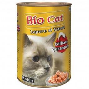 BIO CAT IEPURE/VANAT 410GR (24BUC/BAX)