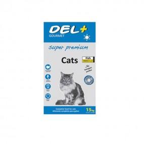 GOURMET DEL+ CAT SUPER PREMIUM 15KG